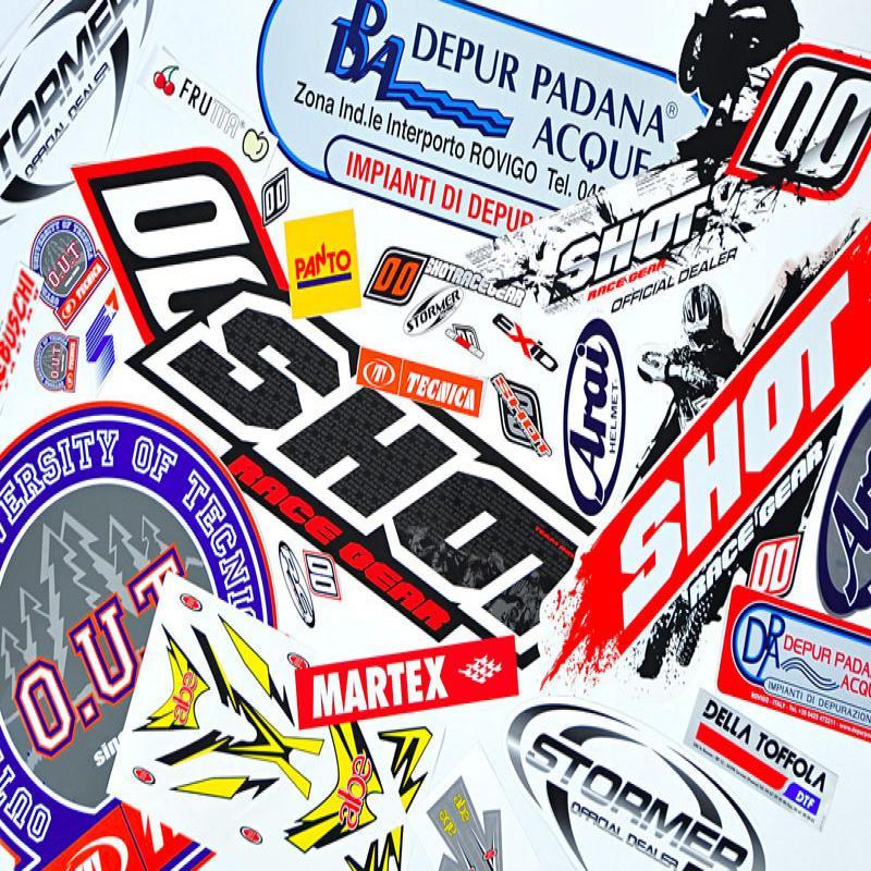 Stampa e Intaglio adesivi - Vetrofanie