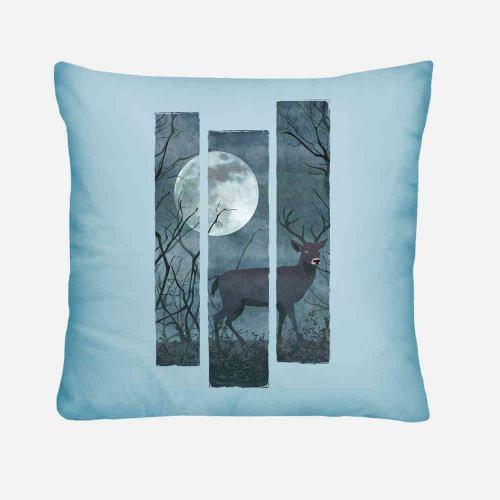 Night Deer cuscino