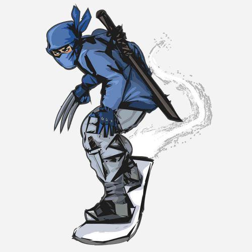 Snowboard ninja