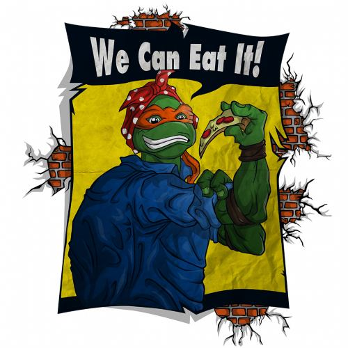 We can eat
