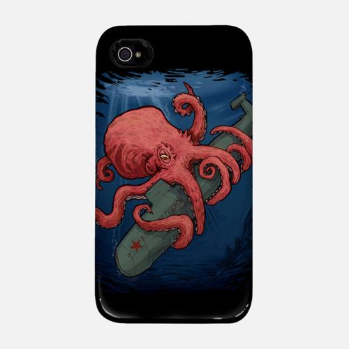 Red Octopus cover