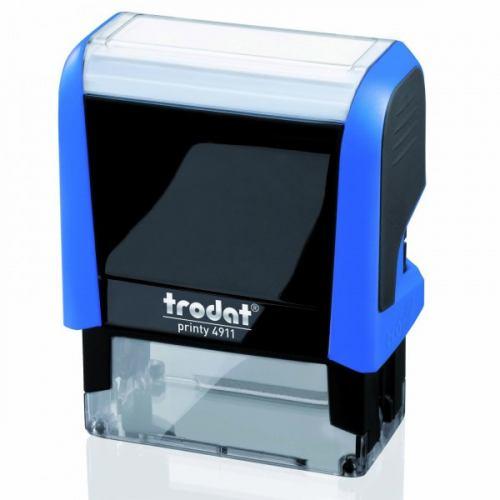 Timbro autoinchiostrante trodat compreso di gomma con dati da inviare a info@tipoarts.com
