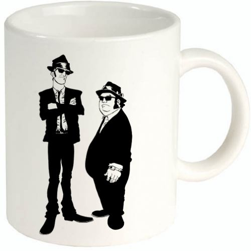Blues Brothers tazza