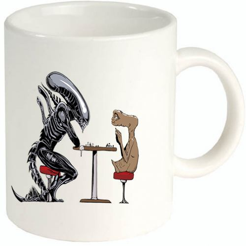 Alien tazza