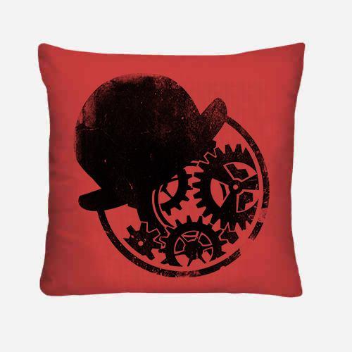Clock cuscino