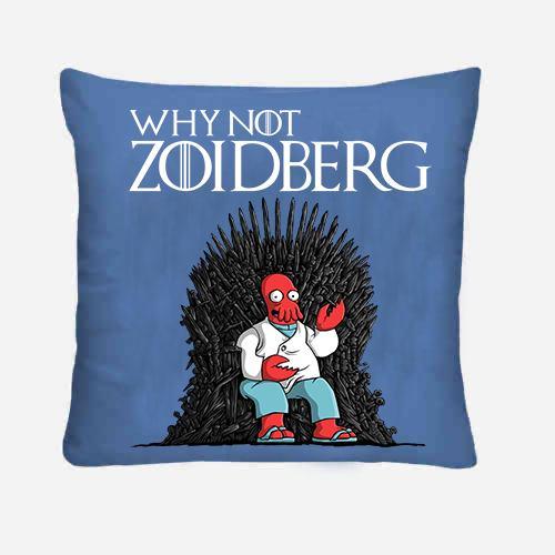 Why not Zoidberg cuscino