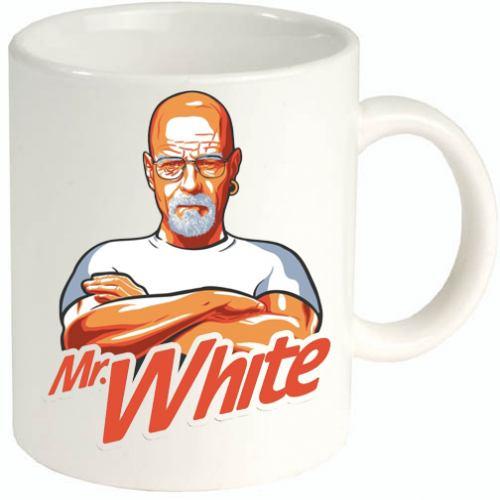 Mr. White tazza